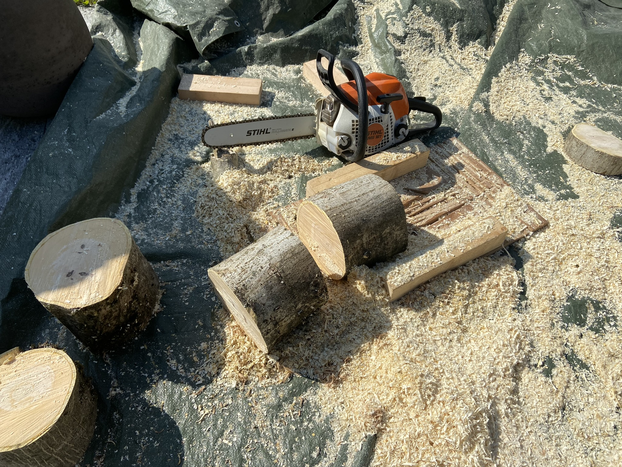 Holzzuschnitt