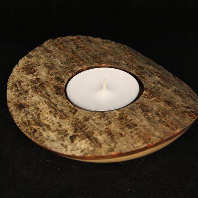 Kerze Nussbaum